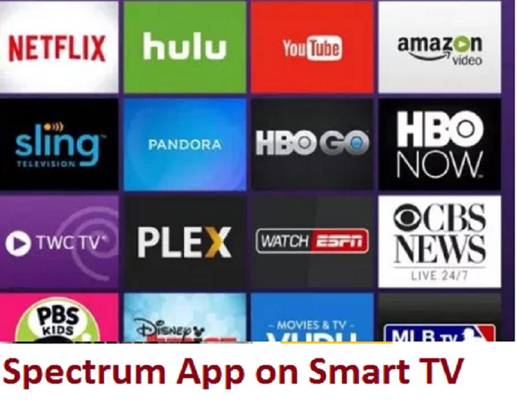 Spectrum App on Smart TV