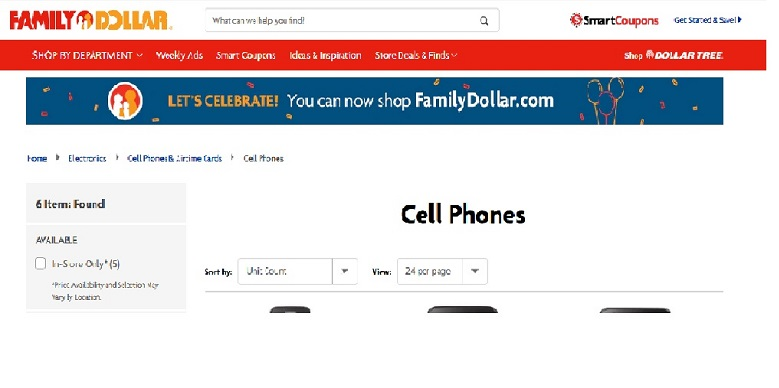 Family Dollar Cell Phones And Prices