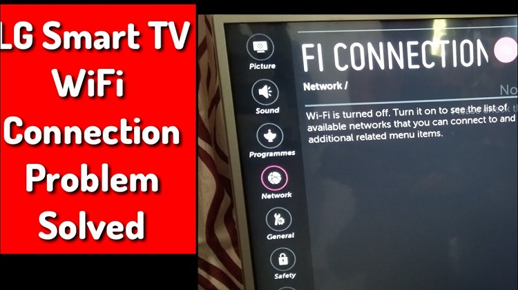 LG TV won't connect to Wi-Fi